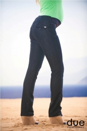 Calça Jeans Regular Fit Catarine Black Due Jeans
