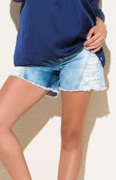 Shorts Gestante Jeans Curto Amy Due Jeans