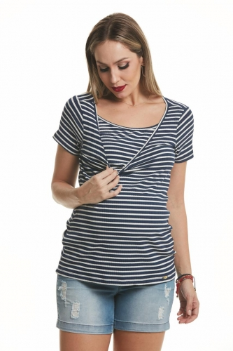 b9200edca Blusa Gestante Amamentaçao com Top Madison Due Vita